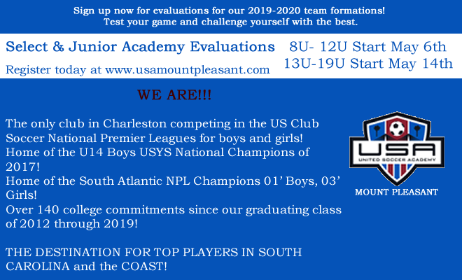 May 2019 Evaluations - Register Today!!